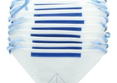 Masques FFP2 x10 Pliables Horizontal ESSENTIEL