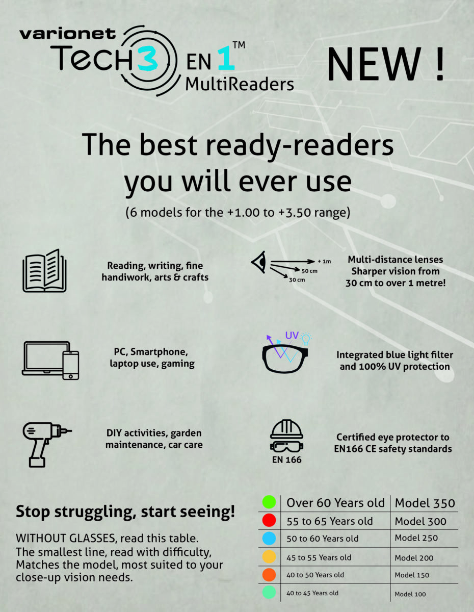 PLV CROSS TECH 3-EN MULTIREADERS